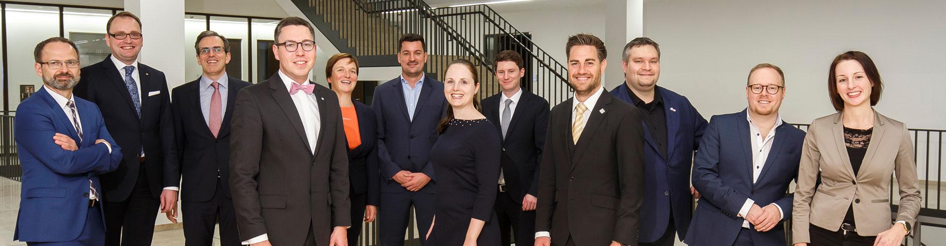 Vorstand der Wirtschaftsjunioren NRW
