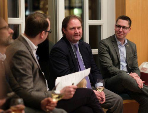 Spitzentreffen der WJ NRW mit Finanzminister Lutz Lienenkämper