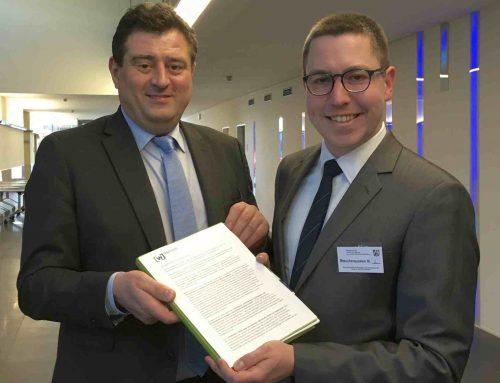 Thomas Müller zu Gast im NRW-Ministerium für Schule und Bildung