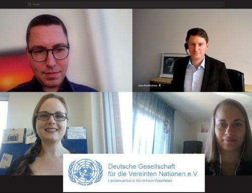Netzwerkgespräch zwischen WJ NRW und der Deutschen Gesellschaft für die Vereinten Nationen (DGVN)
