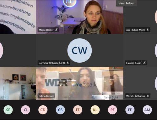 Virtuelle Führung durch den WDR