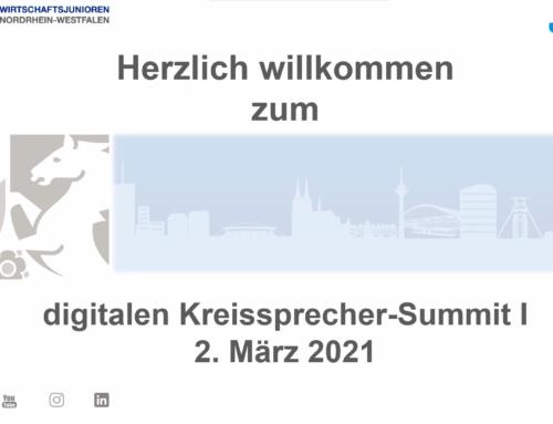Erstes digitales Kreissprecher-Summit