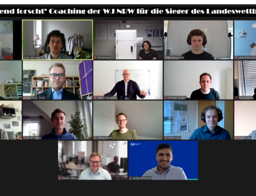"""""""Jugend forscht"""" Coaching ein voller Erfolg – jetzt heißt es Daumen drücken für NRW Teilnehmer!"""